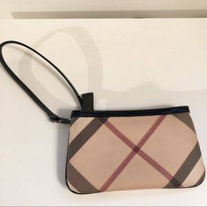 Authentic Burberry Wristlet